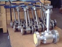 cryogenic forged steel ball valves