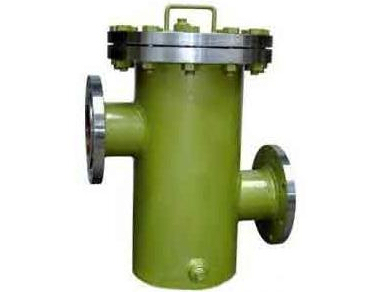 upper and lower T type strainers
