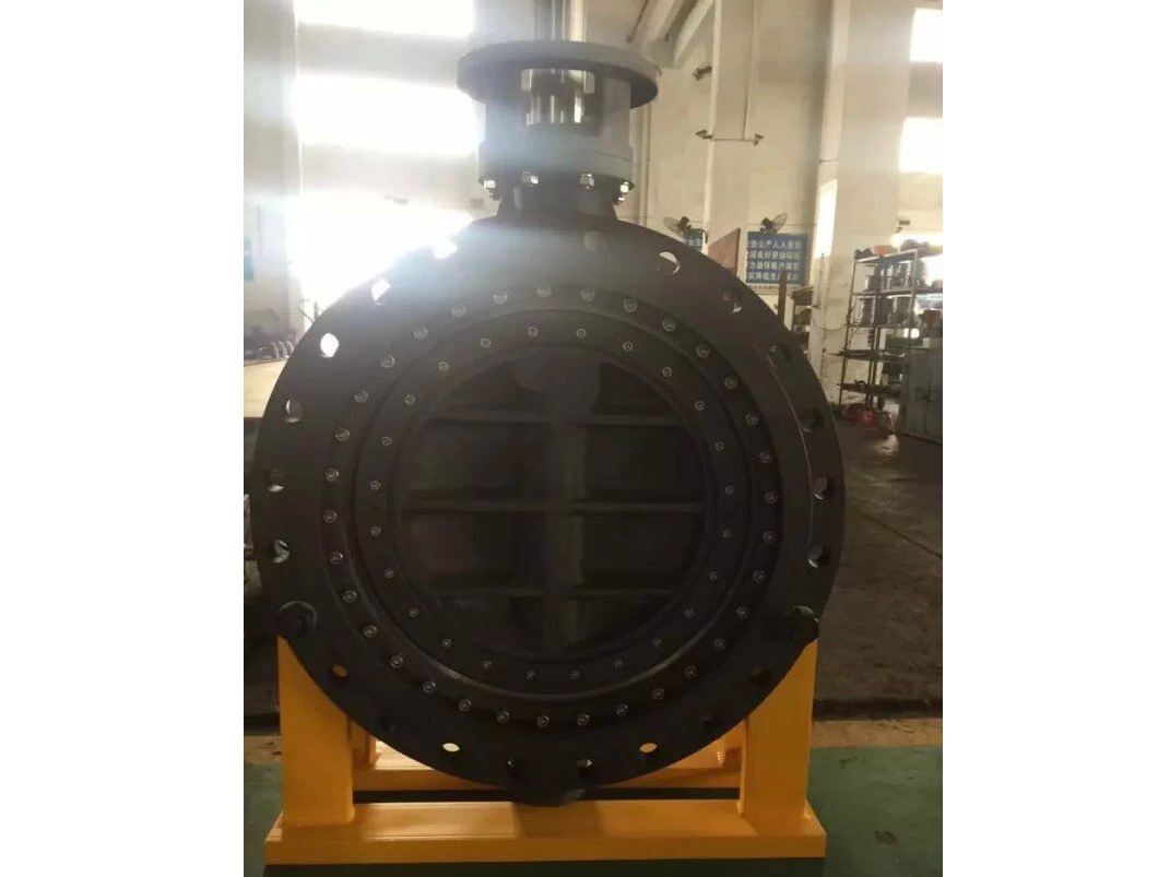 Floating seat multilayer metal seal city gas butterfly valves
