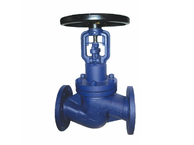 Extended bellows seal globe valves