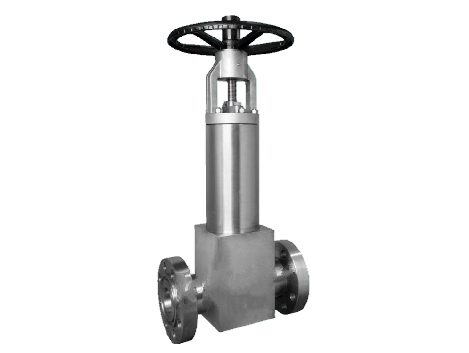 Pressure seal bellows seal globe valves