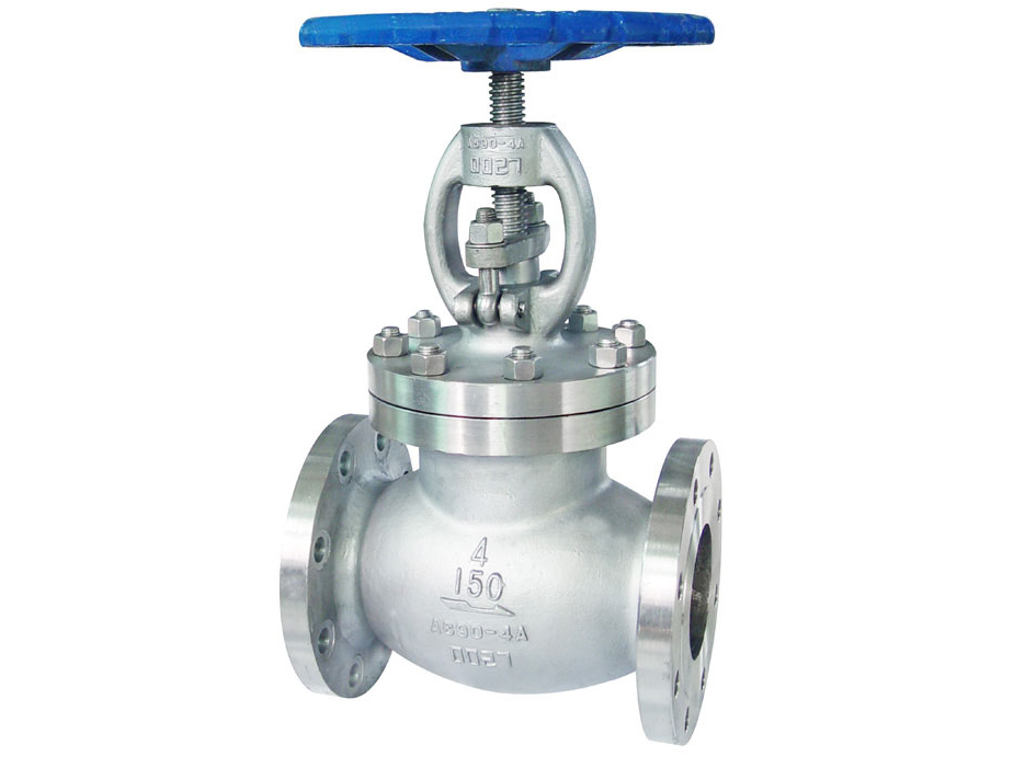 BS1873 Duplex stainless steel 4A globe valves