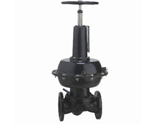 BS pneumatic rubber lined diaphragm valve