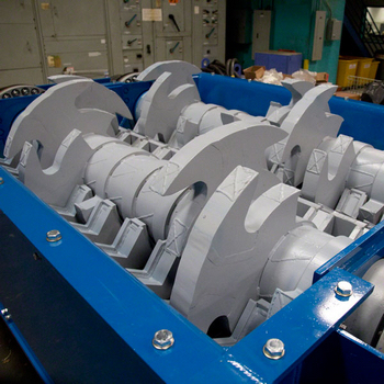 double shaft blades of primary shredder