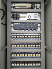 PLC control system for primary shredder