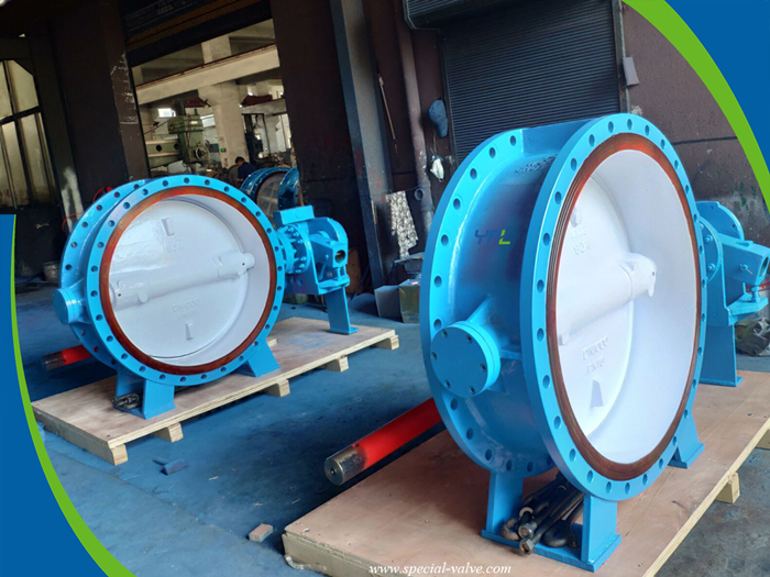 hydraulic slow closing butterfly valves