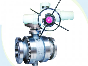 Stellited Metal seated ball valve
