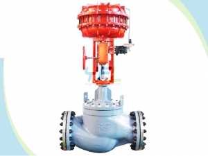 Pneumatic Cage Guided Globe Control Valves