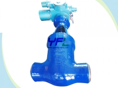 Pressure seal cast steel gate valves