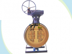 High temperature high pressure butterfly valve