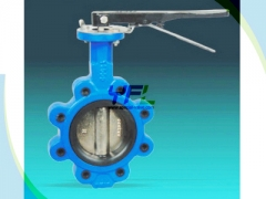 Lugged Center Line One Piece Shaft Butterfly Valve