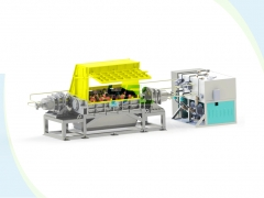 heavy duty double shaft shredder