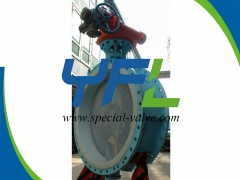 Large size PFA Lined butterfly valve
