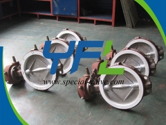 Gear Operated PTFE Seat  butterfly valve