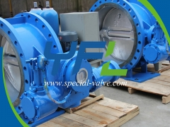 Reliable Hydraulic slow closing butterfly check valve with accumulator Supplier