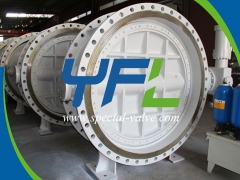 Intelligent Accumulator Type Hydraulic Butterfly Valve by YFL