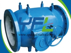 Gear  Operated Plunger Valve by YFL