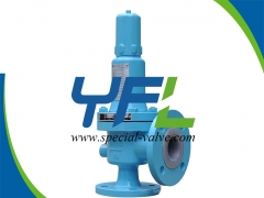 PN16 DN40 PFA Lined Safety Valve by YFL
