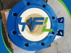 Ceramic V-Port Ball Valve for Nickel Hydrometallurgy by YFL