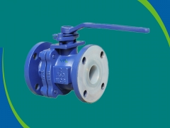 Corrosion resistant PFA Lined Ball Valves by YFL