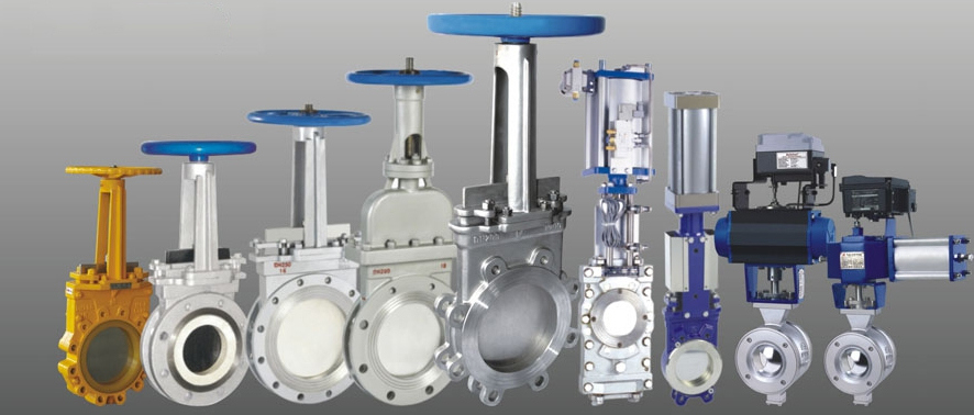 Knife Gate Valve & V Port Ball Valve